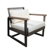 Alfresco Outdoor Rope Weave Lounge Chair