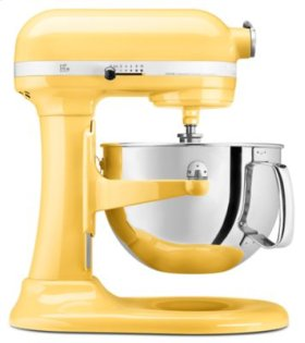 Pro 600 Series 6 Quart Bowl-Lift Stand Mixer - Majestic Yellow