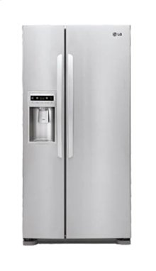 "Large Capacity Side-by-Side Refrigerator with Ice & Water Dispenser (Fits a 33"" Opening)"