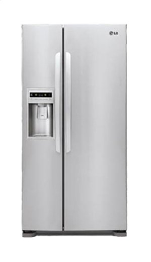 """Large Capacity Side-by-Side Refrigerator with Ice & Water Dispenser (Fits a 33"""" Opening)"""