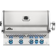 Built-in Prestige PRO 500 RB Infrared Rear Burner , Stainless Steel , Natural Gas