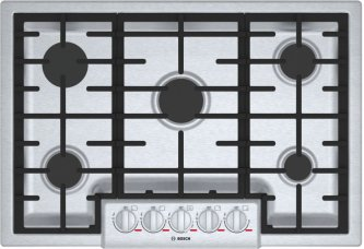 """Benchmark(R) 30"""" 5 Burner Gas Cooktop, NGMP056UC, Stainless Steel"""