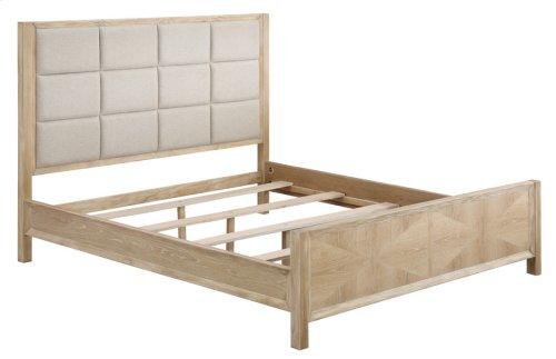 Hb Upholstered-fb Panel-rails-slats 6/6 E King