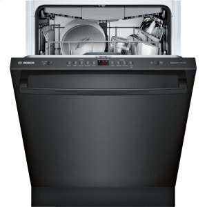 Bosch100 Series Dishwasher 24'' Black SHXM4AY56N