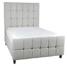 Tufted Footboard shown with 52 Headboard