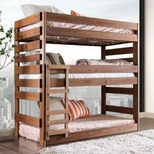 Pollyanna Twin Triple Decker Bed