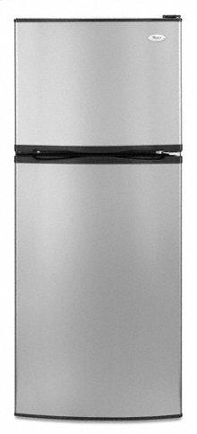 Satina® Stainless Look Whirlpool® 10 cu. ft. ADA Compliant Top Mount Refrigerator