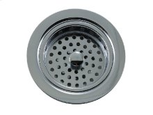 """Traditional - 3-1/2"""" Duo Basket Strainer for Kitchen Sink"""