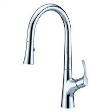 Chrome Antioch® Single Handle Pull-Down Kitchen Faucet