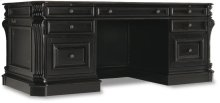"Telluride 76"" Executive Desk w/Leather Panels"