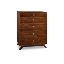 Tribeca 5 Drawer Hiboy Chest
