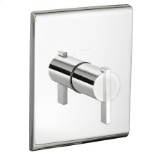 Times Square Central Thermostat Trim Kit - Polished Chrome