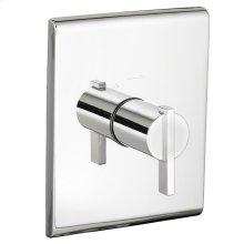 Times Square Central Thermostat Trim Kit - Polished Chrome