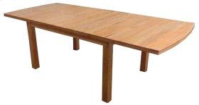 "Portland Leg Table w/2-18"" Leaves"