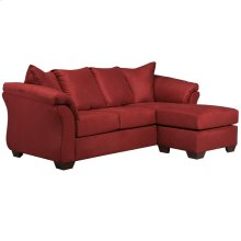 Signature Design by Ashley Darcy Sofa Chaise in Salsa Microfiber [FSD-1109SOFCH-RED-GG]
