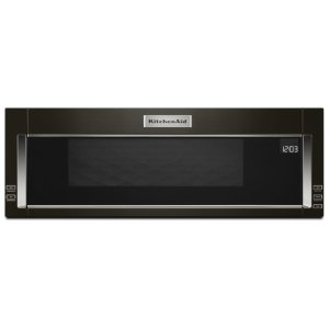 1000-Watt Low Profile Microwave Hood Combination with PrintShield™ Finish - Black Stainless - BLACK STAINLESS