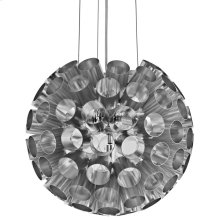 Pierce Aluminum Chandelier in Silver