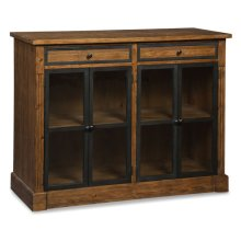 Boone Forge Low Bookcase