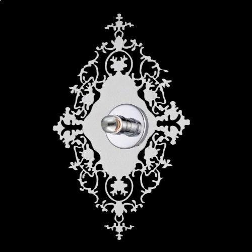 1-LIGHT WALL SCONCE - Clear