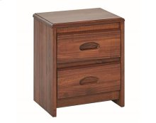 Heartland Flat Top Night Stand with options: Chocolate
