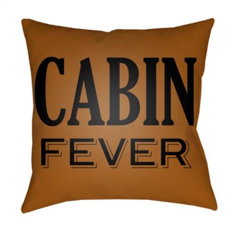 "Lodge Cabin LGCB-2034 22"" x 22"""
