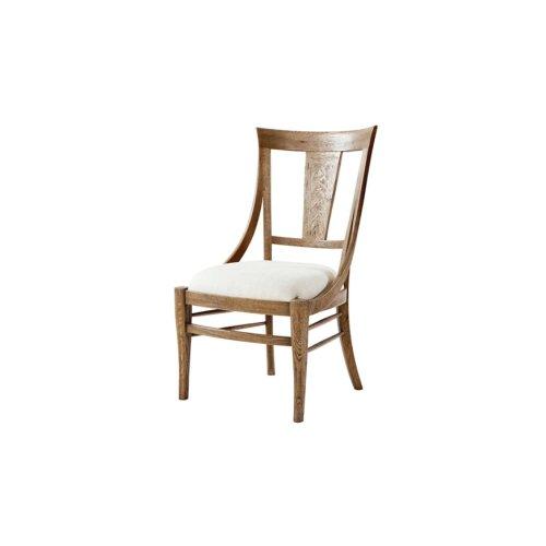Solihull Dining Chair, Echo Oak - Light Echo Oak