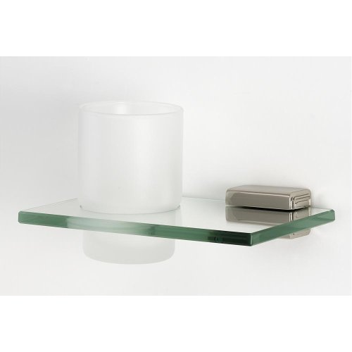 Cube Tumbler Holder A6570 - Polished Nickel