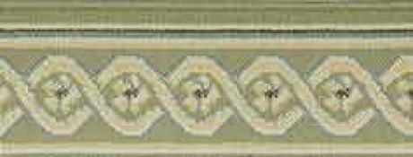 LUXE POINTE FLOWER TRELLIS LP13 GREEN-B 7.6''