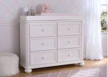 Peyton 6 Drawer Dresser - Bianca (130)