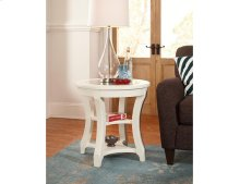 Round End Table-kd