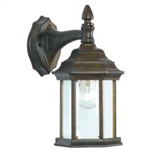 Custom Fit - 1 Light Wall Lantern