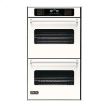 "Cotton White 30"" Double Electric Touch Control Premiere Oven - VEDO (30"" Wide Double Electric Touch Control Premiere Oven)"