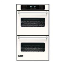 "Cotton White 30"" Double Electric Touch Control Premiere Oven - VEDO (30"" Wide Double Electric Touch Control Premiere Oven)"