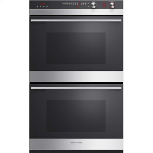 "Fisher & PaykelDouble Built-in Oven 30"", 4.1 + 4.1 cu ft, 11 Functions"