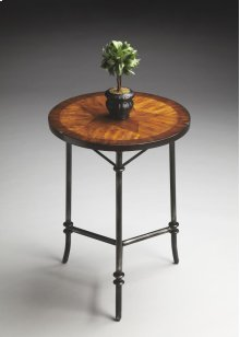 Timber and Tanning Accent Table