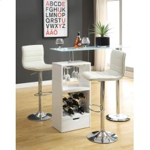 Contemporary White Bar Table