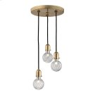 Marlow Pendant - Aged Brass Product Image
