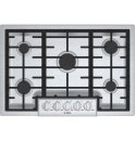 30' Gas Cooktop Benchmark Series - Stainless Steel