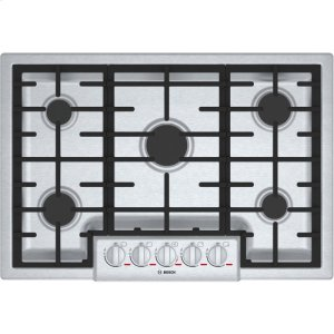 Bosch30' Gas Cooktop Benchmark Series - Stainless Steel