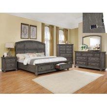 Crown Mark B1885 Lavonia Storage King Bedroom