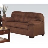 Simmons Espresso Loveseat Product Image