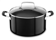 6.0 qt Low Casserole with lid - Onyx Black