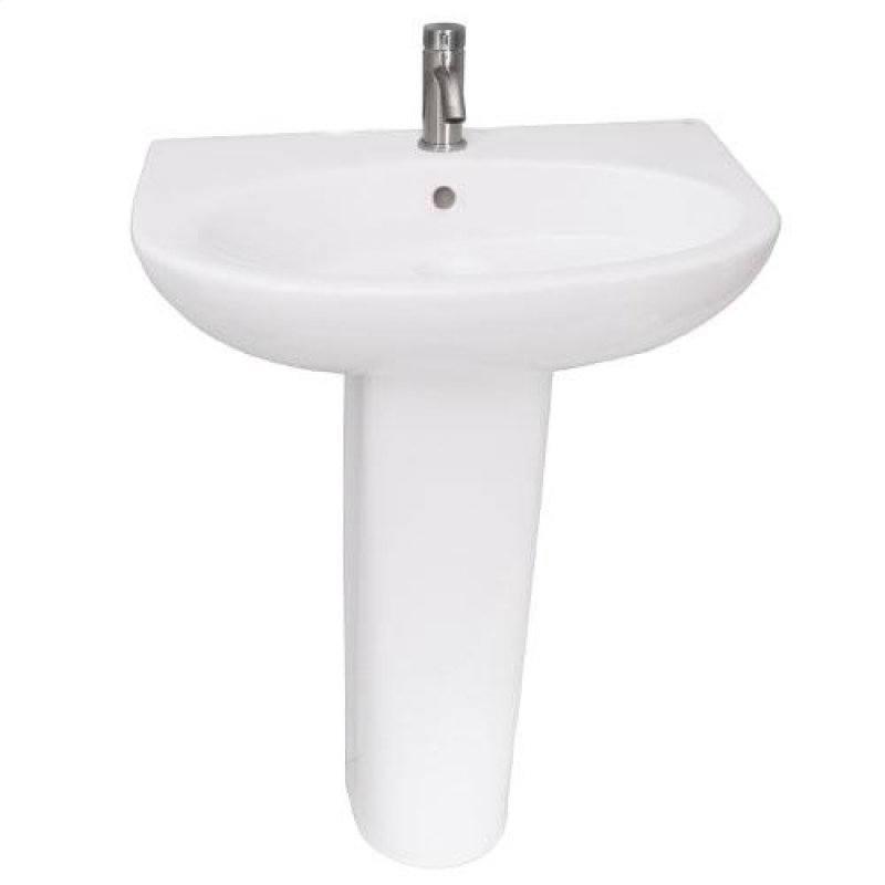 Barclay Hartford Pedestal Sink.3321wh In White By Barclay In Santa Monica Ca Infinity 600