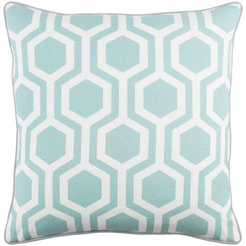 "Inga INGA-7013 18"" x 18"" Pillow Shell with Polyester Insert"