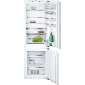 "BOSCH800 Series, 24"" Custom Panel Bottom Freezer with Home Connect"