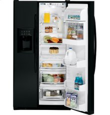 GE Profile ENERGY STAR® 25.5 Cu. Ft. High-Gloss Side-By-Side Refrigerator with Dispenser