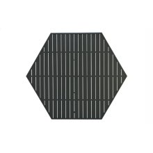 """64"""" Hexagonal Dining Top with Hole"""