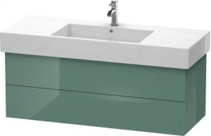 Vanity Unit Wall-mounted, Jade High Gloss Lacquer Product Image