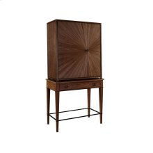 Ellington Circle Bar Cabinet