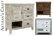 Artisan's Craft Accent Chest - Washed Grey Product Image